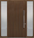 DB-PVT-A2 2SL18 48x96 Single with 2 Sidelites Pivot Door