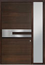 DB-PVT-A4 1SL18 48x96 Single with 1 Sidelite Pivot Door