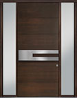 DB-PVT-A4 2SL18 48x108 Single with 2 Sidelites Pivot Door
