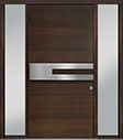 DB-PVT-A4 2SL18 48x96 Single with 2 Sidelites Pivot Door