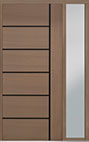 DB-PVT-B1 1SL18 48x108 Single with 1 Sidelite Pivot Door