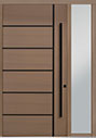 DB-PVT-B1 1SL18 48x96 Single with 1 Sidelite Pivot Door