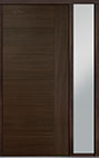DB-PVT-B2 1SL18 48x108 Single with 1 Sidelite Pivot Door