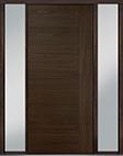 DB-PVT-B2 2SL18 48x108 Single with 2 Sidelites Pivot Door