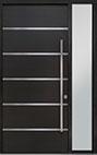 DB-PVT-B3 1SL18 48x108 Single with 1 Sidelite Pivot Door