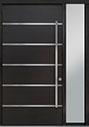 DB-PVT-B3 1SL18 48x96 Single with 1 Sidelite Pivot Door