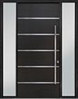 DB-PVT-B3 2SL18 48x108 Single with 2 Sidelites Pivot Door