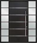 DB-PVT-B3 2SL24B 48x108 Single with 2 Sidelites Pivot Door