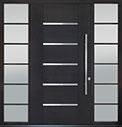DB-PVT-B5 2SL24B 48x96 Single with 2 Sidelites Pivot Door
