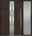 DB-PVT-C2 1SL24 60x96 Single with 1 Sidelite Pivot Door