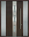 DB-PVT-C2 2SL18 48x108 Single with 2 Sidelites Pivot Door