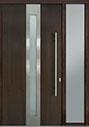 DB-PVT-D4 1SL18 48x96 Single with 1 Sidelite Pivot Door