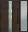 DB-PVT-D4 1SL24 60x96 Single with 1 Sidelite Pivot Door