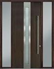 DB-PVT-D4 2SL18 48x108 Single with 2 Sidelites Pivot Door