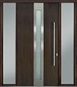DB-PVT-D4 2SL18 48x96 Single with 2 Sidelites Pivot Door