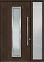 DB-PVT-E4 1SL18 48x96 Single with 1 Sidelite Pivot Door