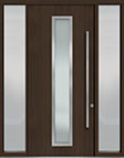 DB-PVT-E4 2SL18 48x108 Single with 2 Sidelites Pivot Door
