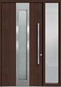 DB-PVT-F4 1SL18 48x96 Single with 1 Sidelite Pivot Door