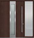 DB-PVT-F4 1SL24  60x96 Single with 1 Sidelite Pivot Door