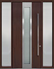 DB-PVT-F4 2SL18 48x108 Single with 2 Sidelites Pivot Door