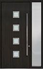 DB-PVT-H4 1SL18 48x108 Single with 1 Sidelite Pivot Door