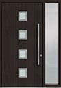 DB-PVT-H4 1SL18 48x96 Single with 1 Sidelite Pivot Door