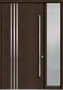 DB-PVT-L1 1SL18 48x96 Single with 1 Sidelite Pivot Door