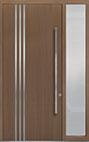 DB-PVT-L1 1SL18 48x108 Single with 1 Sidelite Pivot Door