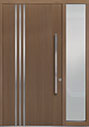 DB-PVT-L1 1SL18 48x96 Single with 1 Sidelite Pivot Door