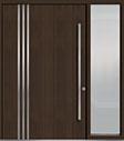 DB-PVT-L1 1SL24  60x96 Single with 1 Sidelite Pivot Door