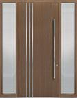 DB-PVT-L1 2SL18 48x108 Single with 2 Sidelites Pivot Door