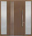 DB-PVT-L1 2SL18 48x96 Single with 2 Sidelites Pivot Door