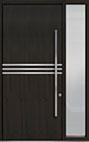 DB-PVT-L2 1SL18 48x108 Single with 1 Sidelite Pivot Door