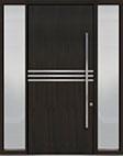 DB-PVT-L2 2SL18 48x108 Single with 2 Sidelites Pivot Door