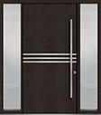 DB-PVT-L2 2SL18 48x96 Single with 2 Sidelites Pivot Door