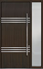 DB-PVT-L3 1SL18 48x108 Single with 1 Sidelite Pivot Door
