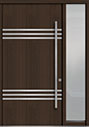 DB-PVT-L3 1SL18 48x96 Single with 1 Sidelite Pivot Door