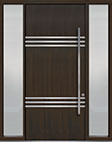 DB-PVT-L3 2SL18 48x108 Single with 2 Sidelites Pivot Door