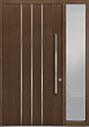 DB-PVT-L6 1SL18 48x96 Single with 1 Sidelite Pivot Door