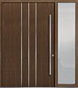 DB-PVT-L6 1SL24  60x96 Single with 1 Sidelite Pivot Door
