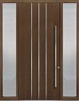 DB-PVT-L6 2SL18 48x108 Single with 2 Sidelites Pivot Door