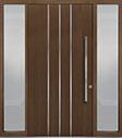DB-PVT-L6 2SL18 48x96 Single with 2 Sidelites Pivot Door