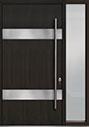 DB-PVT-M1 1SL18 48x96 Single with 1 Sidelite Pivot Door