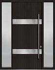 DB-PVT-M1 2SL18 48x108 Single with 2 Sidelites Pivot Door