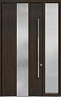 DB-PVT-M2 1SL18 48x108 Single with 1 Sidelite Pivot Door