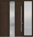 DB-PVT-M2 1SL24  60x96 Single with 1 Sidelite Pivot Door