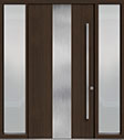 DB-PVT-M2 2SL18 48x96 Single with 2 Sidelites Pivot Door