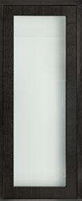 Custom Pivot Front  Door Example, Mahogany Wood Veneer-Espresso DB-PVT-001 42x108