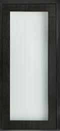 Custom Pivot Front  Door Example, Mahogany Wood Veneer-Espresso DB-PVT-001 42x96