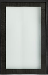Custom Pivot Front  Door Example, Mahogany-Wood-Veneer-Espresso DB-PVT-001 60x96